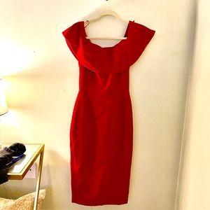 Red Zara Evening Dress